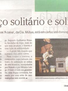 O Globo, Rio de Janeiro/RJ, 18/04/2008