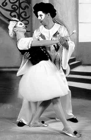 Intervenção Pierrot e Colombina