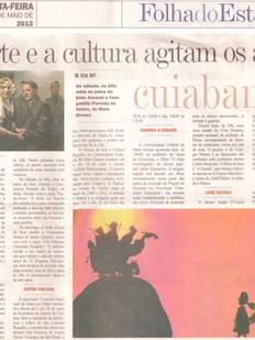 Folha do Estado, Cuiabá/MT, 11/05/2012