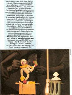 Revista Veja Rio, Rio de Janeiro/RJ, 16/04/2008