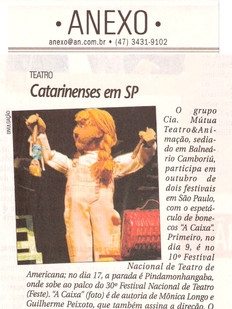A Notícia, Joinville/SC, 29/09/2006