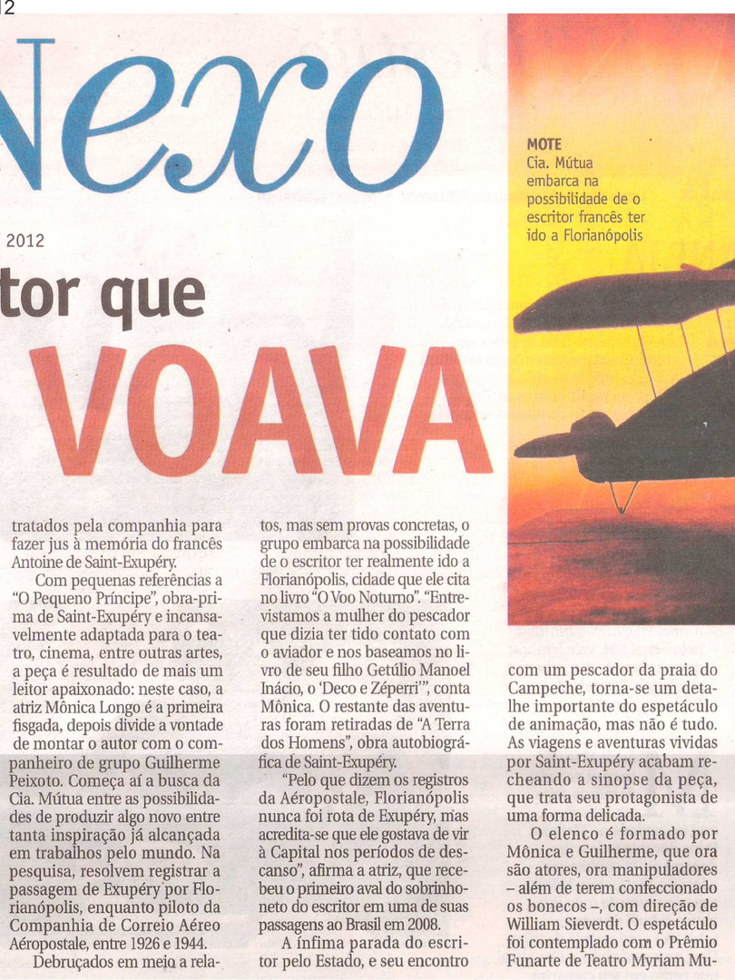 Jornal A Notícia, Joinville/SC, 16/06/2012