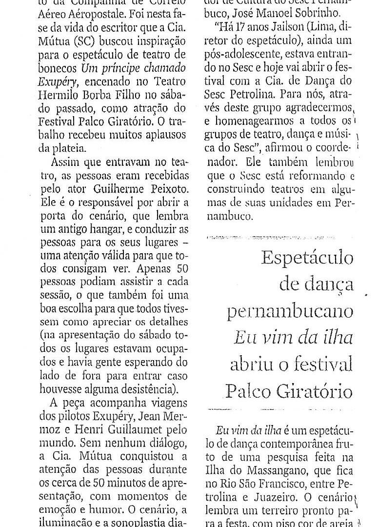 JC, Recife/PR, 17/05/2012