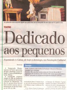 Diário Catarinense, Florianópolis/SC, 10/10/2006