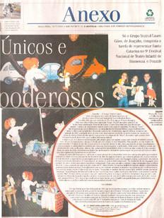 A Notícia, Joinville/SC, 19/07/2005