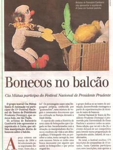 Diário Catarinense, Florianópolis/SC, 19/08/2006