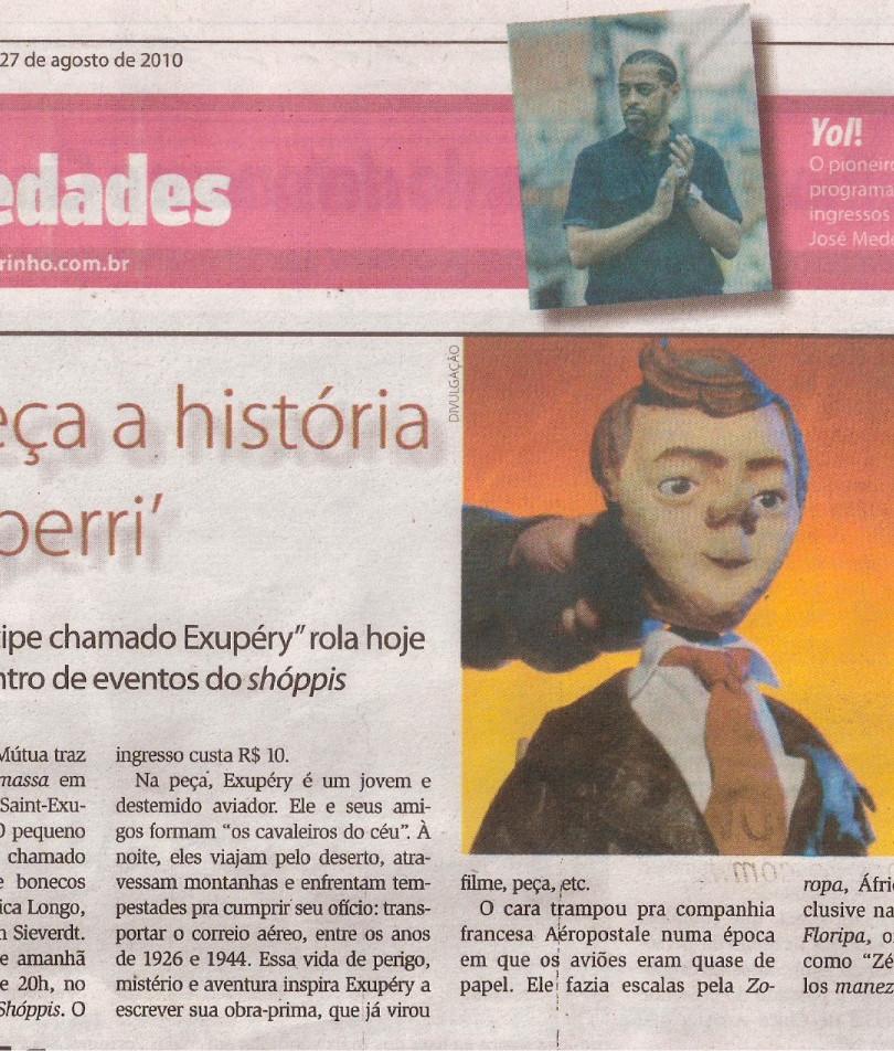 Diarinho, Itajaí/SC, 27/08/2010