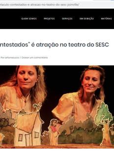 Blog Arte na Cuca, Joinville/SC, 25/10/2019