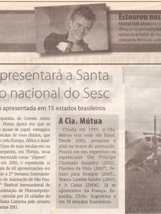 Diarinho, Itajaí/SC, 26/04/2012