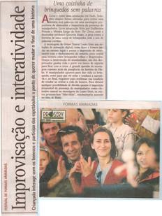 Diário Catarinense, Florianópolis/SC, 12/08/2005