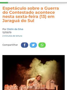 Jornal Digital OCP News, Jaraguá do Sul/SC, 12/09/2019