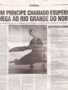 O Jornal de Hoje, Natal/RN, 07/08/2013
