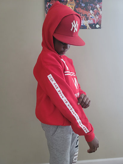 Youth-Red Hoodie/The New Wave