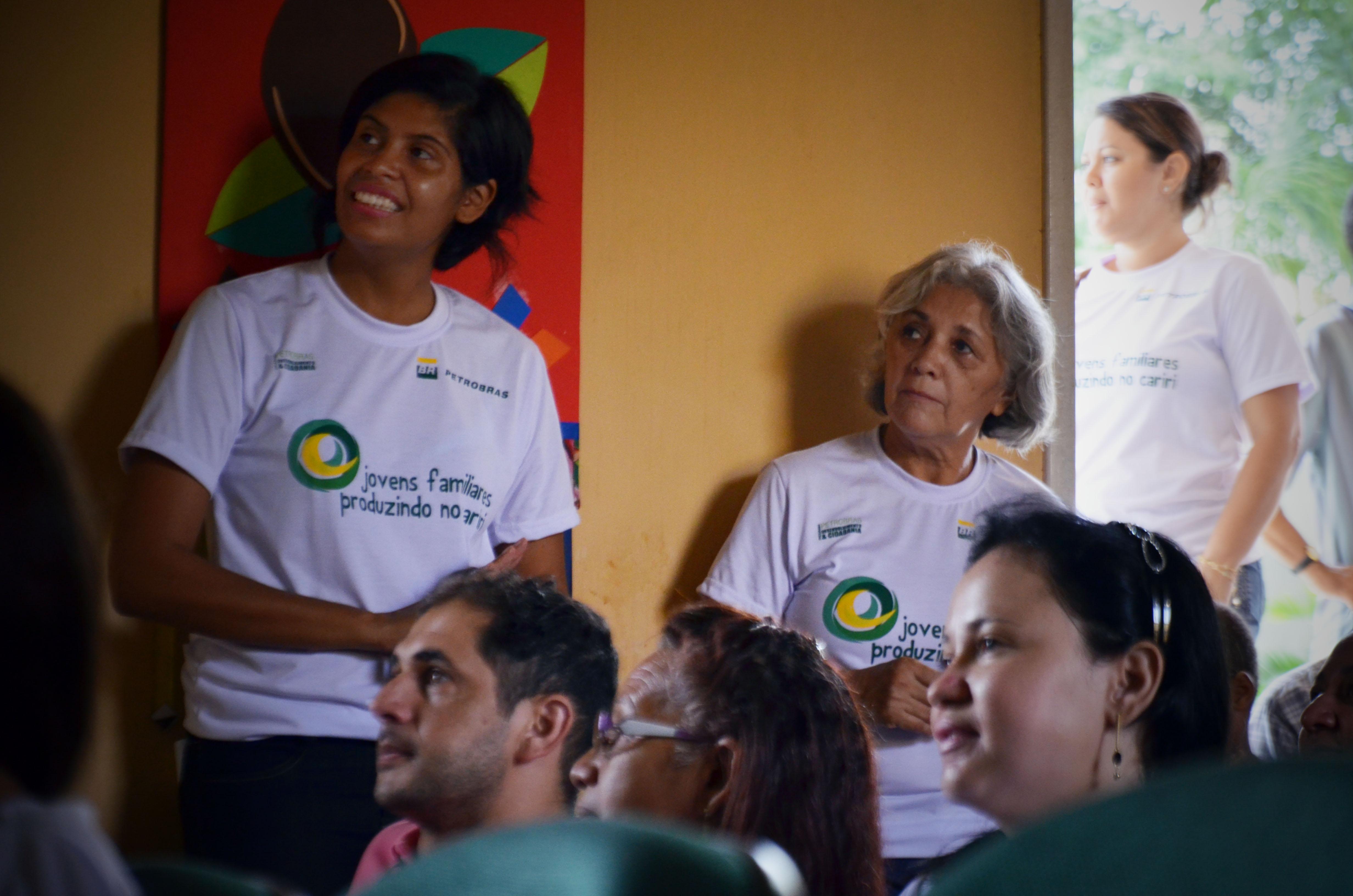 Público acompanha apresentação