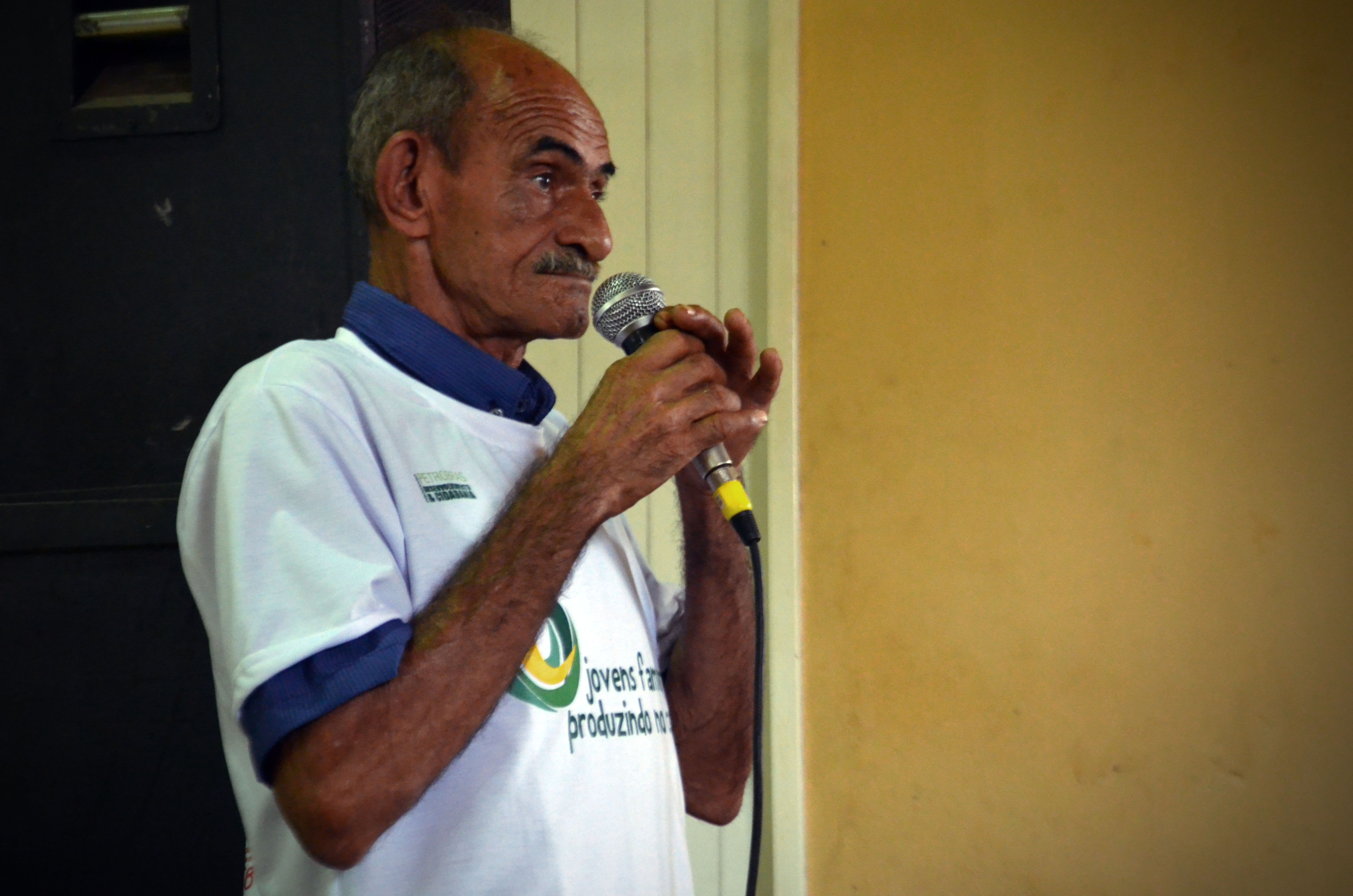 Zé Arthur, parceiro do projeto