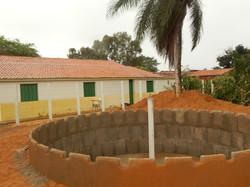 Cisterna de 52 mil/l em contrução
