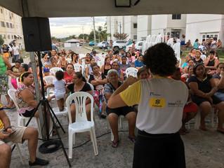 ACB desenvolve projeto social em comunidade de João Pessoa - PB