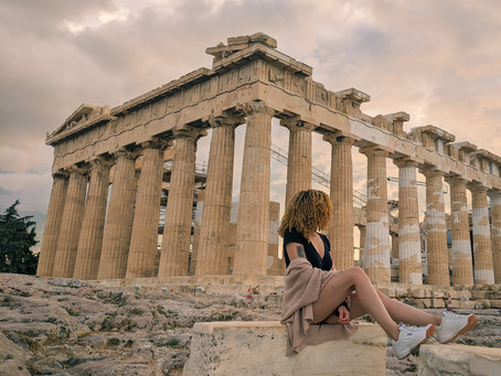 My Big Fat Physically Distanced Greek Vacation. Travelling Athens in 2020.