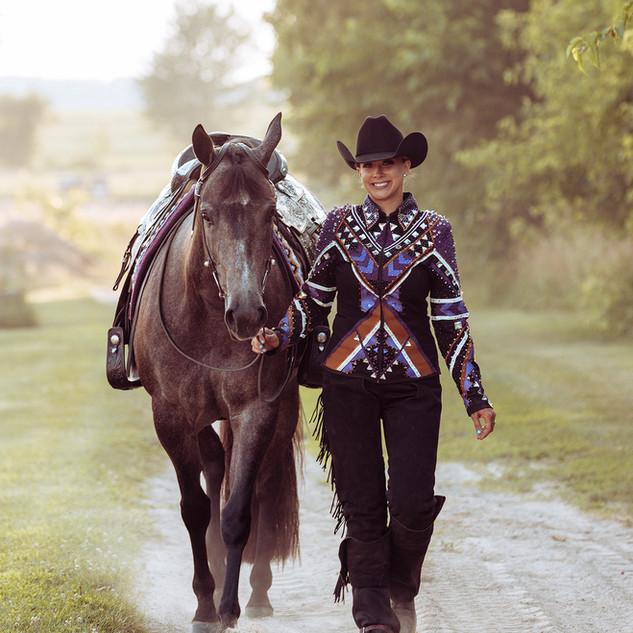 Western Pleasure Look