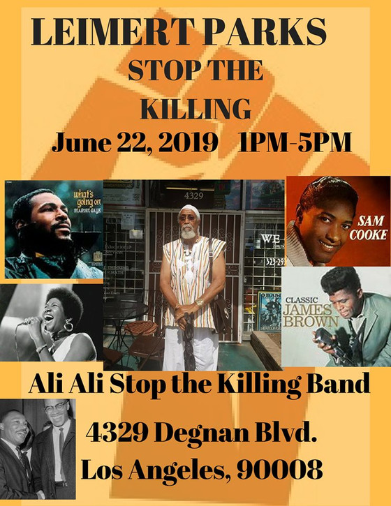 Stop The Killing...this weekend!