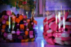 Sweet cart jars - sweet cart hire Essex - MMENT