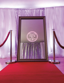 Magic Mirror Photo Booth Hire in Kent - MMENT