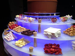 Large chocolate fountian avialable for hire in Essex - MMENT