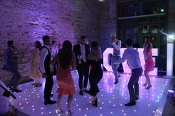 Starlit Dance floor hire in Essex - MMENT