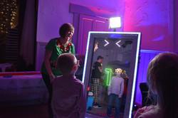 Magic selfie mirror photo booth in Kent - Moji Entertainer