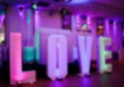 Wedding DJ in Essex with a gorgeous white wedding DJ equipment