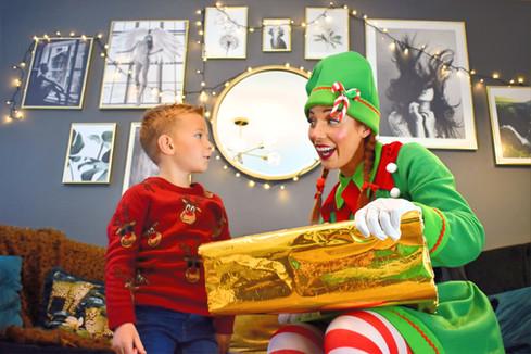 Elf Home Visits Essex - Moji Entertainer