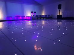 A stunning wedding dance floor - Dance floor hire Essex - MMENT