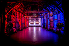 A gorgeous room with beautiful mood lighting - Mood lighting hire Essex - MMENT