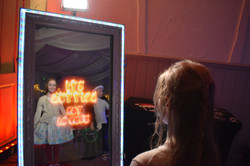 Magic mirror photo booth for kids parties Essex - Moji Entertainer