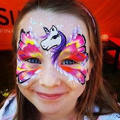 Face Paint Design - Moji Entertainer