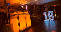Light Up Number Hire - MMENT