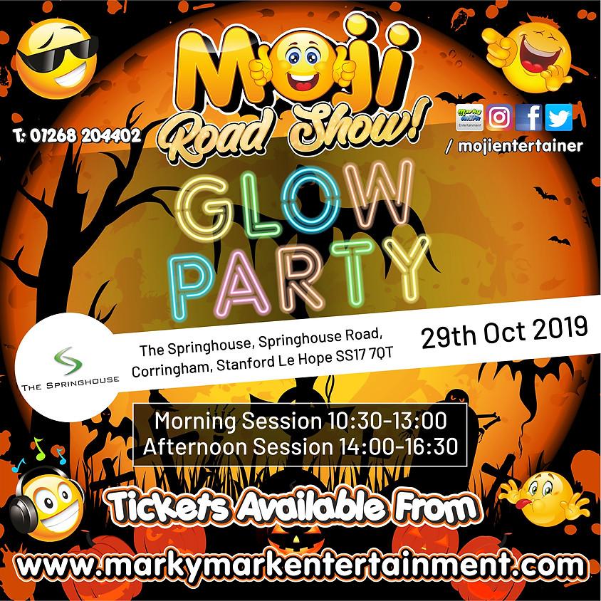 Moji Road Show - Halloween Glow Party