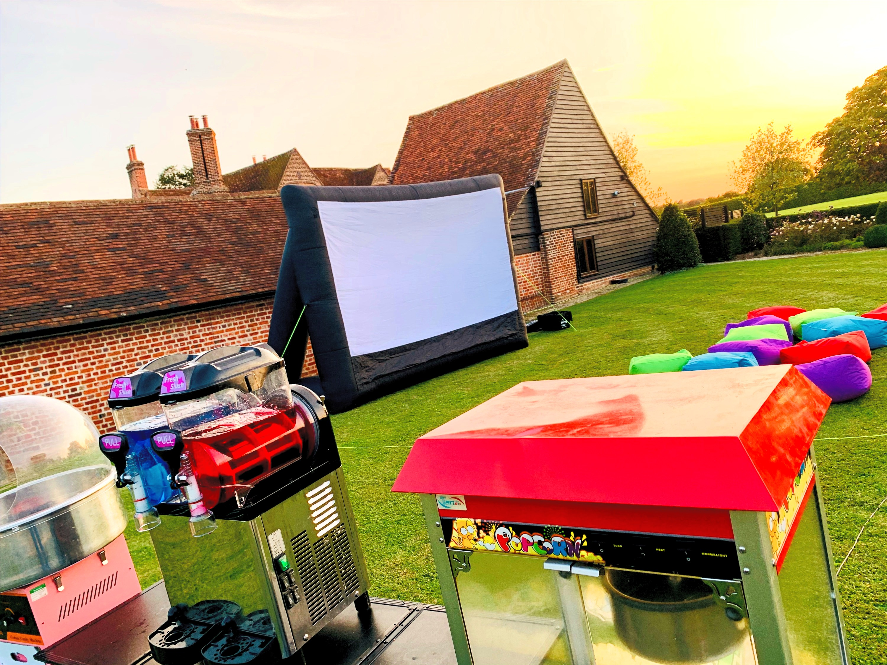 Giant Inflatable Cinema Hire Essex