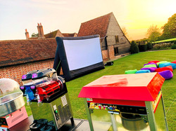 Giant Inflatable Cinema Hire Essex