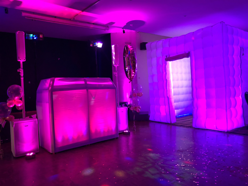 photo booth and dj hire Essex