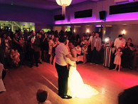 Wedding uplighting hire Essex - MMENT