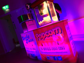 Popcorn & candy floss machines in Essex - Moji Entetainer