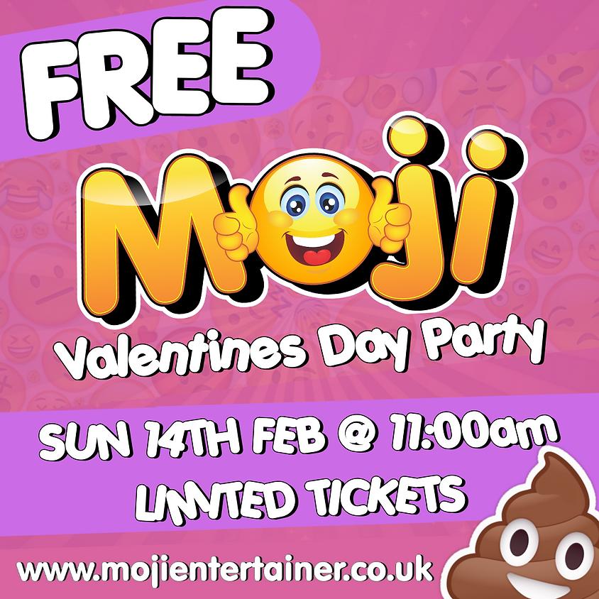 Free Moji Valentines Day Party