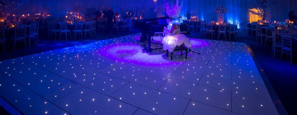 Dance floor hire in Hertford, Essex - MMENT