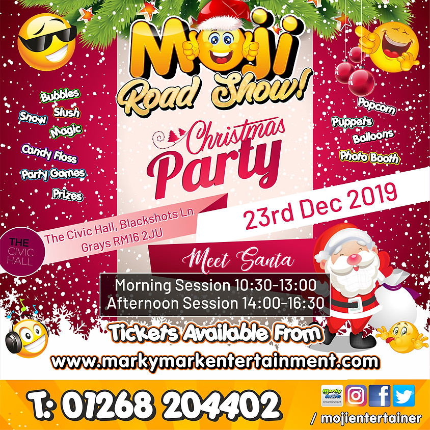 Moji Road Show Christmas Party - Impulse Leisure Members Only