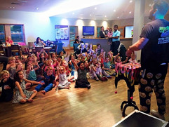 Children watching a magic show - Children's entertainer in Essex - Marky Mark Entertainer