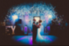 First dance at a wedding with confetti - Wedding DJ Essex - MMENT