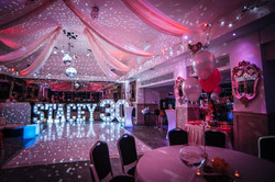 Staarlit dance floor hire Essex - MMENT