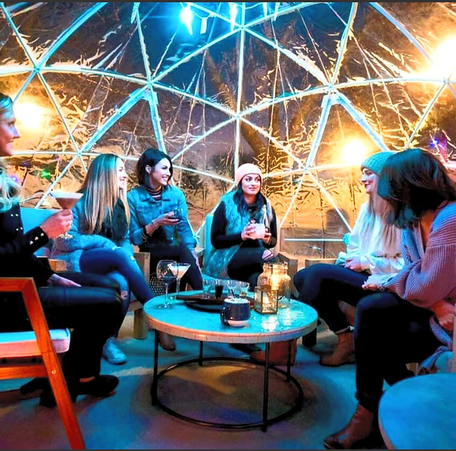 Garden Igloos For Hire