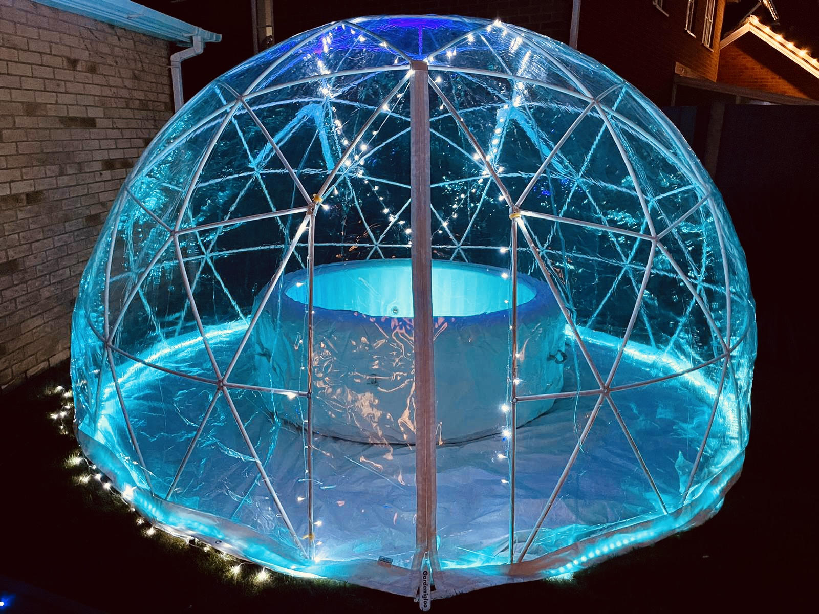 igloo and hot tub hire london